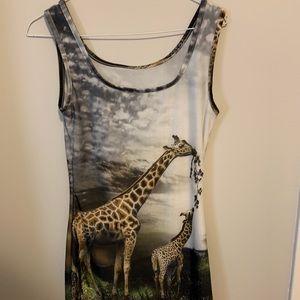 Dresses & Skirts - Giraffe dress/tunic